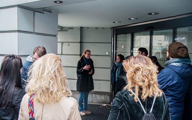 Rundgang 01: HÜLLE UND FÜLLE – Räume sichten in der Annenstraße
